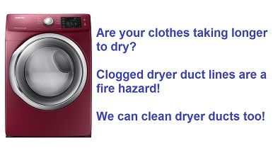 dryer vent cleaning in the Denver CO area - Colorado